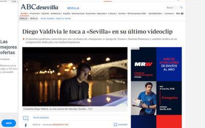 Diego Valdivia le toca a «Sevilla» en su último videoclip