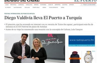 Diego Valdivía lleva El Puerto a Turquía