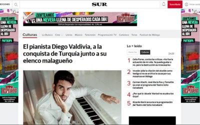 Diego Valdivia a la conquista de Turquía junto a su elenco
